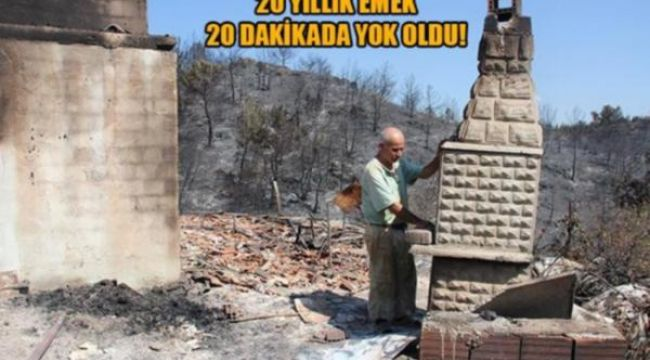 İzmir'deki yangının acı hikayesi