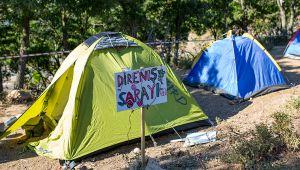 Kaz Dağları'ndaki çadır nöbetini sonlandırma kararı