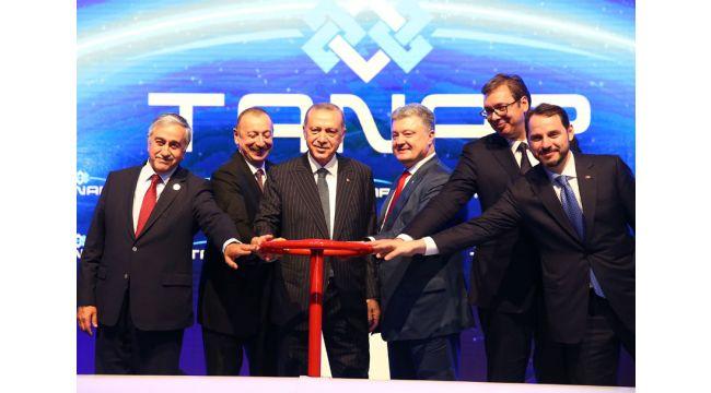 Cumhurbaşkanı Erdoğan: TANAP ülkelerimiz arasındaki köklü dostluğun bir sembolüdür