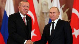 Erdoğan ile Putin Kovid-19'a karşı iş birliğini görüştü