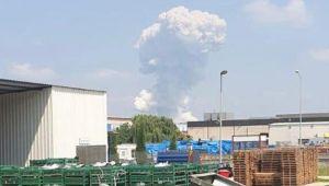 Son dakika... Sakarya'daki patlama sonrası ilk açıklama: Bomba düştü sandık