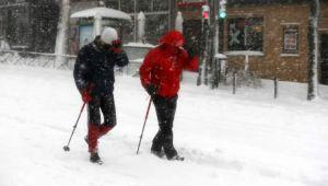 İspanya kar fırtınasına teslim oldu - Resim 1