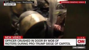 Kanlı Kongre baskının yeni görüntüleri! Polisin 'help' çığlıkları dehşeti gösteriyor