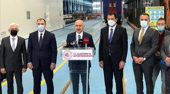 Bakan Karaismailoğlu: Milli elektrikli trenimizi bu yıl içerisinde hizmete sunacağız