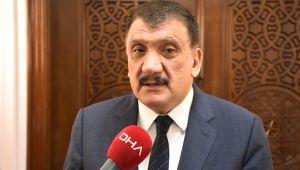 Başkan Gürkan, YİMPAŞ binasındaki çalışmaları inceledi