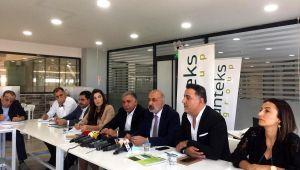 DTSO Başkanı Kaya Diyarbakır'da tekstil sektörü işletmecileriyle bir araya geldi